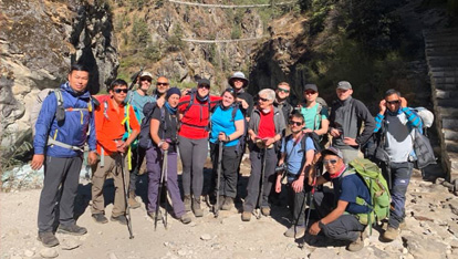 Everest Basecamp Trek with Embrace CVoC