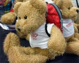Embrace Teddy with Backpack