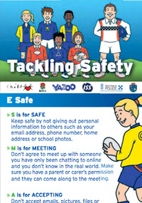 Tackling Safety - a personal safety campaign by Embrace