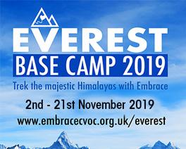EVEREST BASE CAMP TREK 2019 - Embrace CVoC